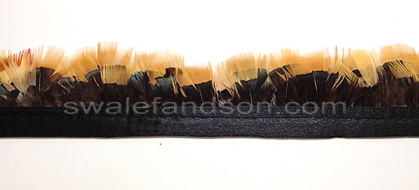 Lady Amherst Pheasant Yellow Plumage | Wholesale Feather Trim