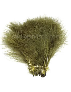 Strung Turkey Marabou | Turkey Feathers