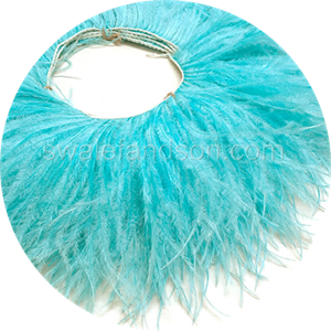 Pink Ostrich Feather Fringe | Ostrich Feathers Wholesale