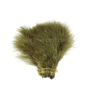 Bulk Strung Turkey Marabou | Wholesale Turkey Feathers
