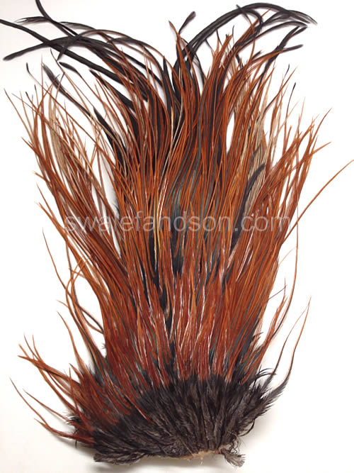 Furnace Genetic Rooster Saddle Patches | Rooster Feathers for Sale